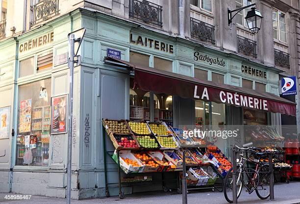 panettiere francese tradizionale - lione foto e immagini stock