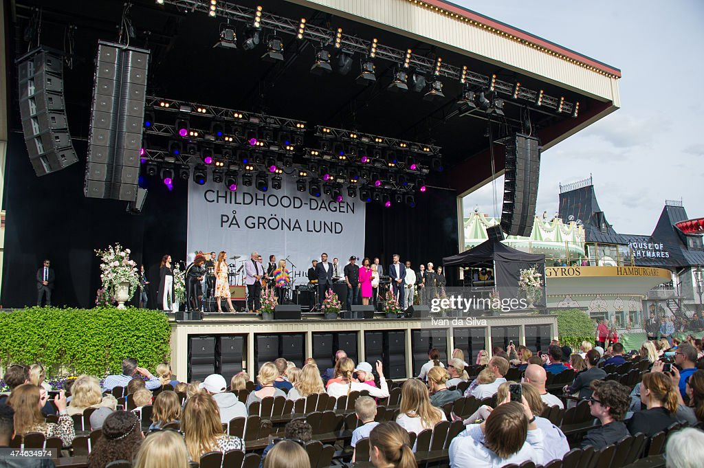 Grona Lund at the Childhood day at Djurgarden on May 24, 2015 in Stockholm, Sweden. (Photo by Ivan Da Silva/Getty Images).
