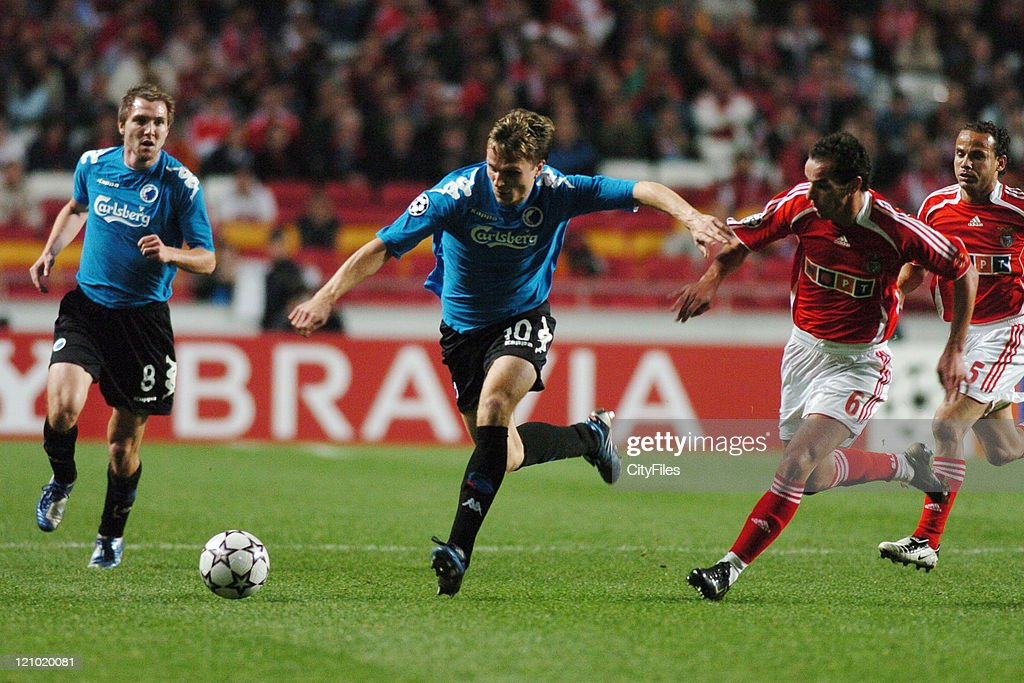 Gronkjaer of Copenhagen in during the UEFA Champions Leage, Group F SL Benfica vs FC Copenhagen at Luz Stadium in Lisbon, Portugal on November 21, 2006