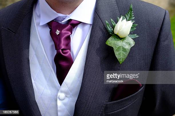 Groom's wedding suit
