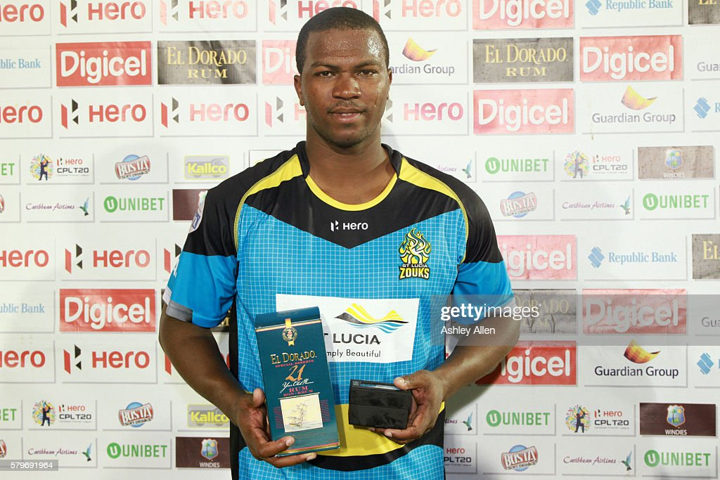 St Lucia Zouks v Guyana Amazon Warriors - Hero Caribbean Premier League (CPL)  Match 23 : News Photo