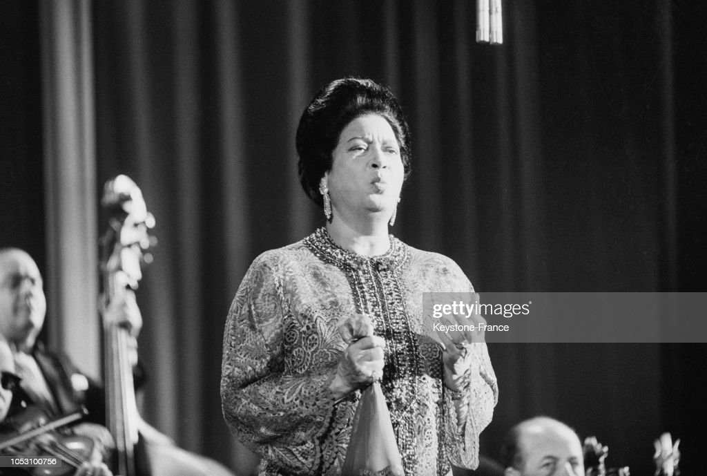 Oum Kalthoum à l'Olympia : News Photo