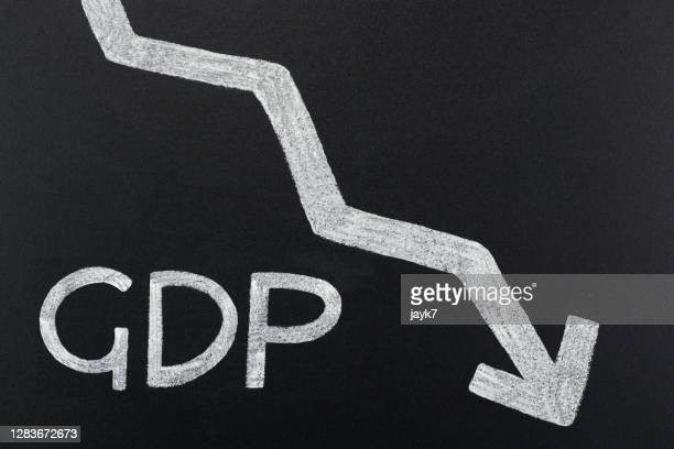 gross domestic product - chart stock pictures, royalty-free photos & images
