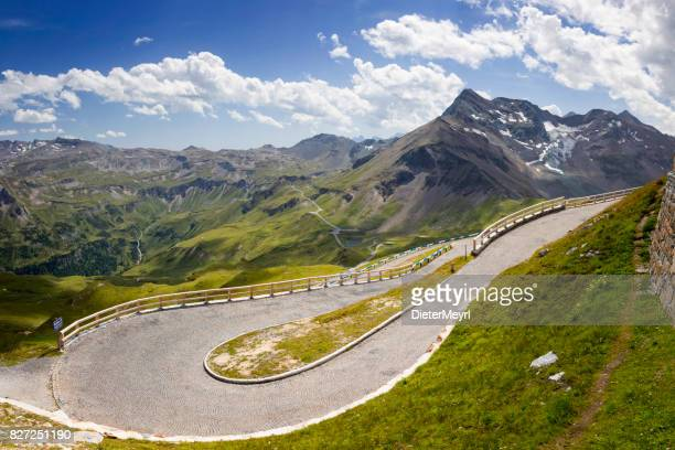 Grossglockner Alpine road in den Alpen. TM