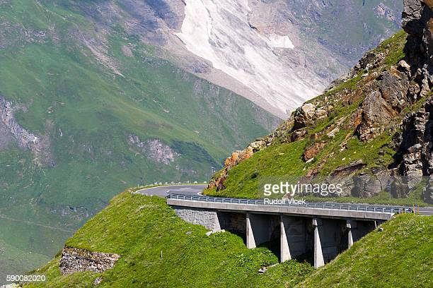 Grossglockner high alpine road (Großglockner-Hochalpenstraße), Austria