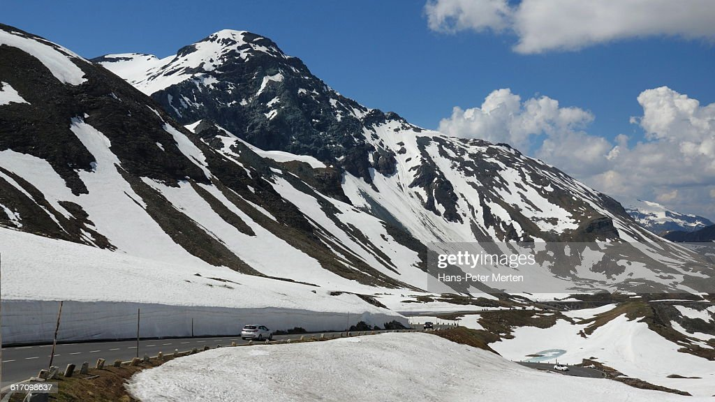 Grossglockner High Alpine Road, Austria : Stock Photo