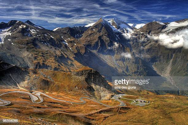 Grossglockner high mountain road
