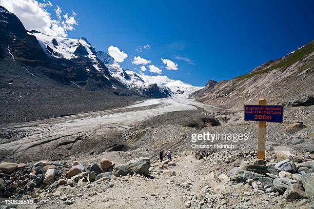 grossglockner mountain group, johannisberg and glacier pasterze, national park hohe tauern, carinthia, austria - 2000 2009 stock pictures, royalty-free photos & images