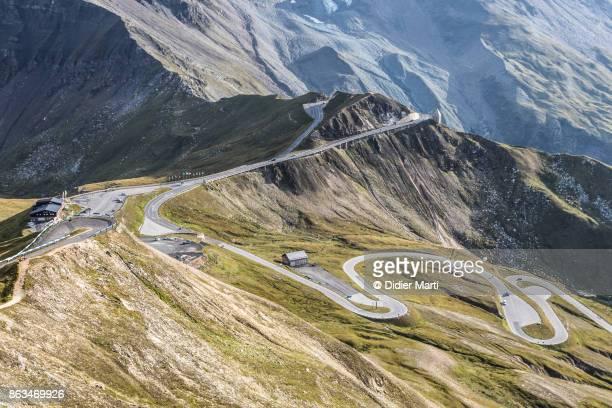 Grossglockner mountain pass in Austria