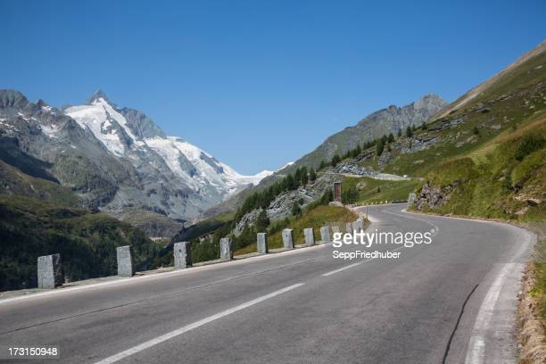 Grossglockner with high alpine road