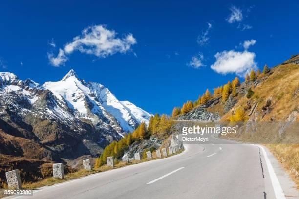 Grossglockner with high alpine road