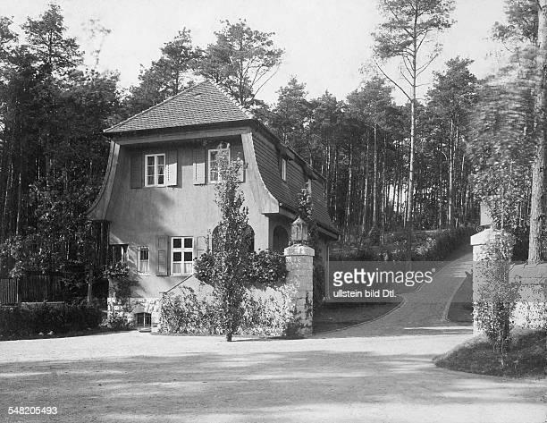 1872 1941 Grossindustrieller Heinenhof Potsdam Landsitz Carl Friedrich von Siemens Eingangsbereich 1912 Foto R Siegert