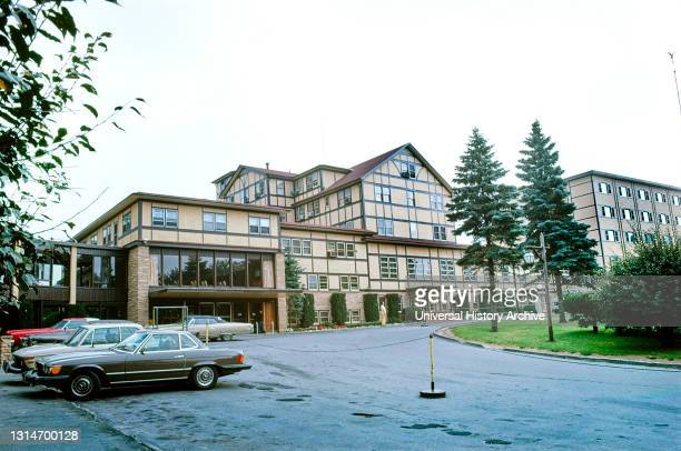Grossinger's Hotel and Resort, Liberty, New York, USA, John Margolies Roadside America Photograph Archive, 1976.