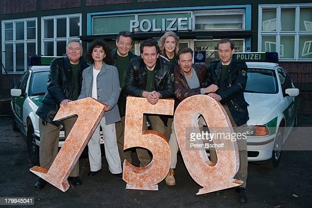 Großstadtrevier, ARD-Serie, 150. Folge,;Jubiläum, Edgar Hoppe, Maria;Ketikidou, Peter Neusser, Jan Fedder,;Dorothea Schenck, Till Demtrüder,...