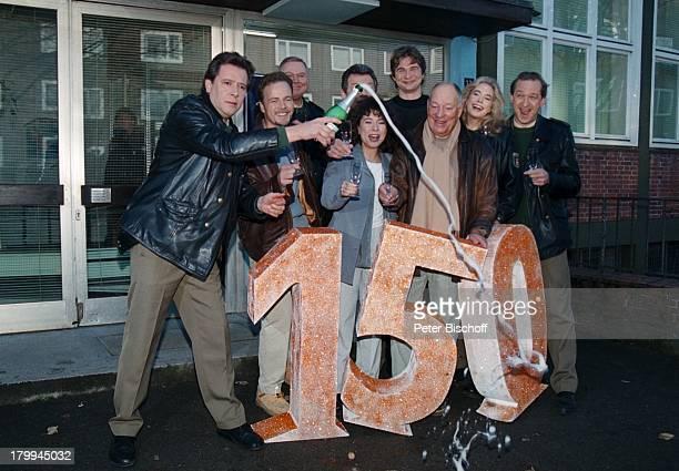 Großstadtrevier, ARD-Serie, 150. Folge,;Jubiläum, Jan Fedder, Till;Demtrüder, Edgar Hoppe, Maria Ketikidou,;Peter Neusser, Christian Stier,...