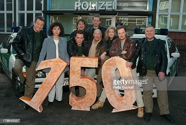 Großstadtrevier, ARD-Serie, 150. Folge,;Jubiläum, Peter Neusser, Maria;Ketikidou, Jan Fedder, Christian Stier,;Peter Heinrich Brix, Jürgen...