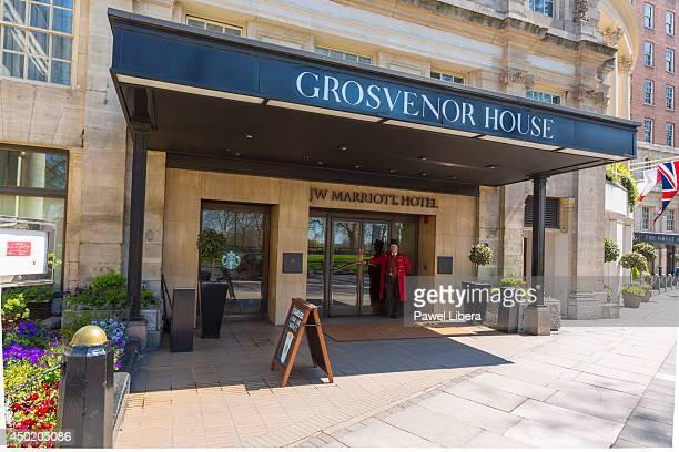 Grosvenor House Hotel in London