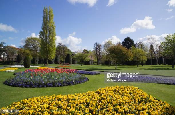 grosvenor park in chester - aangelegd stockfoto's en -beelden