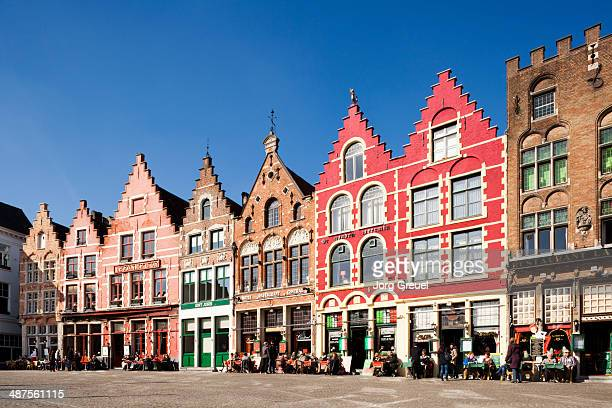 grote markt - bruges stock pictures, royalty-free photos & images