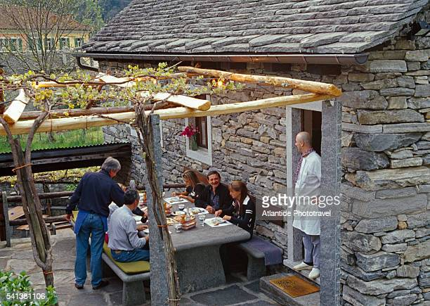 Grotto Lafranchi, a Restaurant in the Maggia Valley