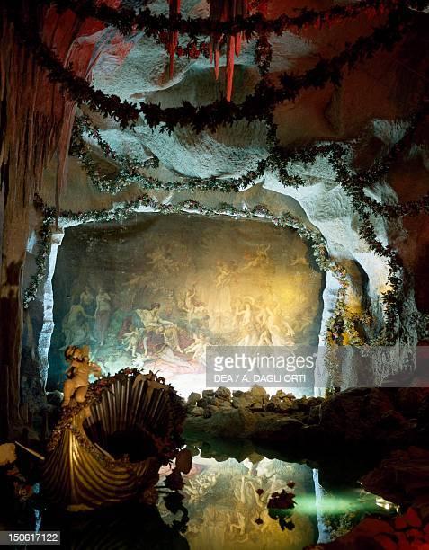 Grotto of Venus 18701877 by August Dirigl Linderhof Palace near Oberammergau Germany 19th century