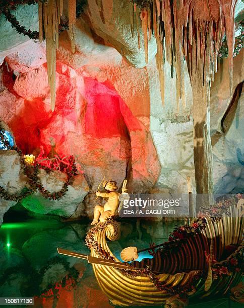 Grotto of Venus by August Dirigl 18701877 Lugwig II's Linderhof Palace Bavaria Germany