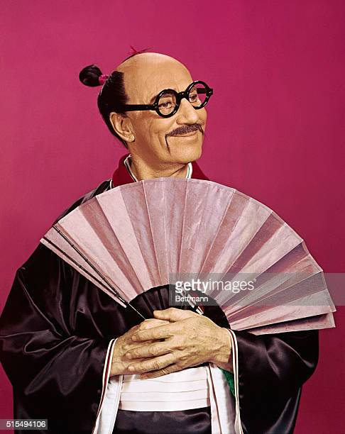 Groucho Marx as he appeared as Koko in the Bell Telephone Hour production of The Mikado