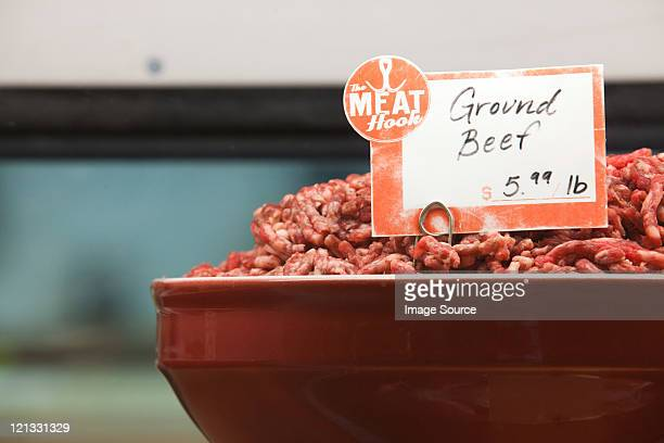 ground beef for sale - ground beef stock pictures, royalty-free photos & images