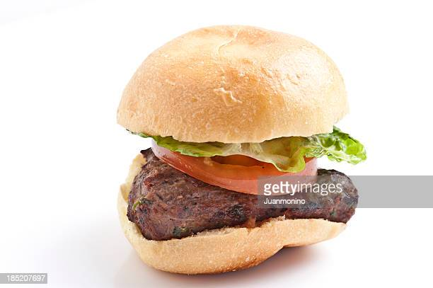 Ground beef mini burger