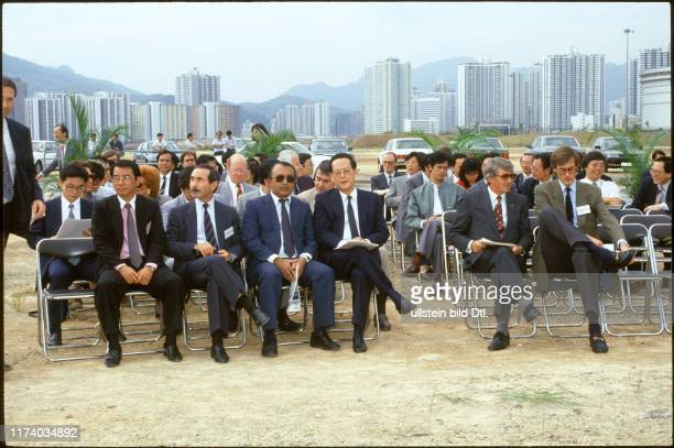 Ground breaking ceremony Times Ringier in Hongkong 1987