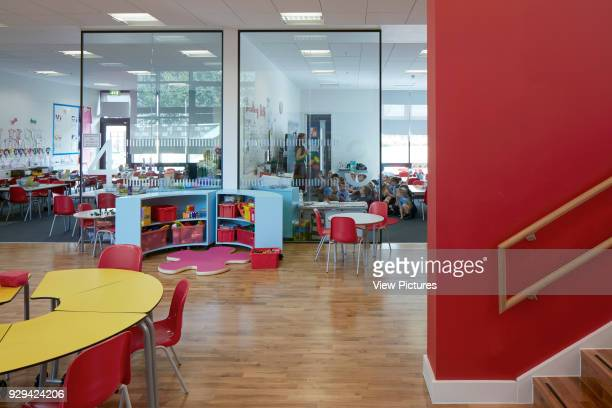 Ground floor classroom and circulation space Lairdsland Primary School Kirkintilloch United Kingdom Architect Walters and Cohen Ltd 2015
