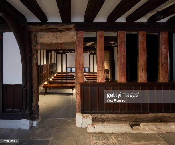 Ground floor projection room Shakespeare's Schoolroom StratforduponAvon United Kingdom Architect Wright Wright Architects LLP 2016