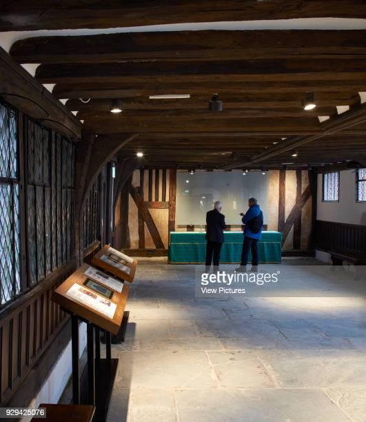 Ground floor reception room Shakespeare's Schoolroom StratforduponAvon United Kingdom Architect Wright Wright Architects LLP 2016