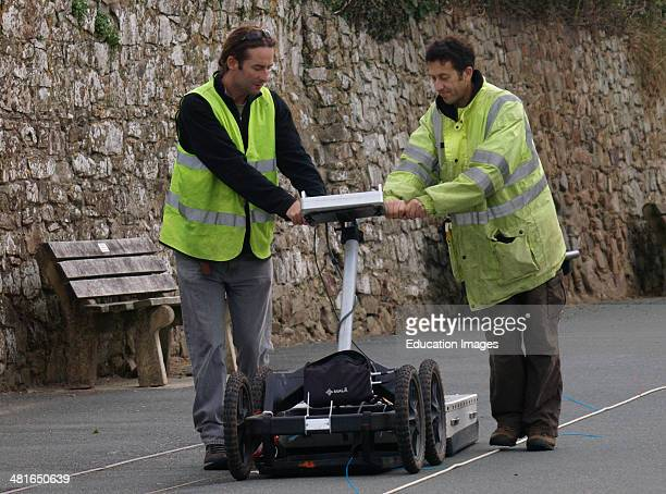 Ground Penetrating Radar Bude Cornwall UK