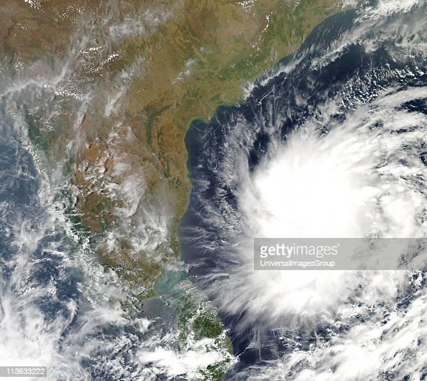 MODIS Processing System Geoinformatics Centre Tropical Cyclone Nargis near Sri Lanka and India
