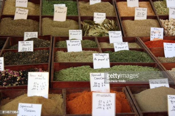 ground spices in many bento boxes