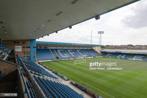 Ground view - Priestfield Stadium - Home of Gillingham FC during the Sky Bet League One match between Gillingham and Bolton Wanderers at MEMS...