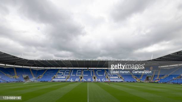 Ground view - Select Car Leasing Stadium - Home to Reading during the Sky Bet Championship match between Reading and Preston North End at Madejski...