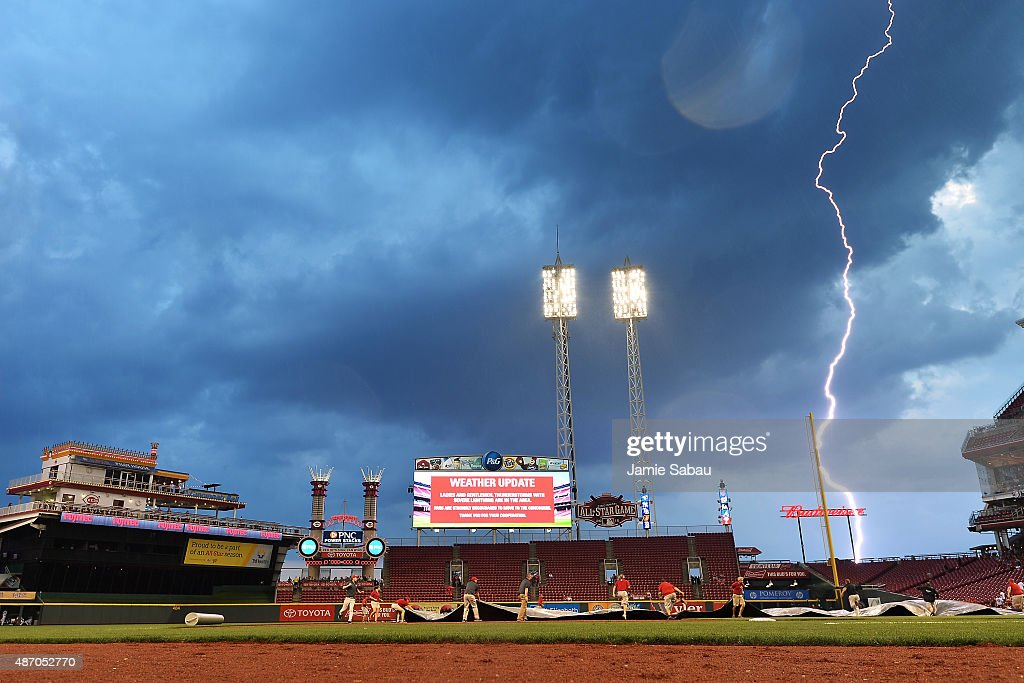 Milwaukee Brewers v Cincinnati Reds - Game Two : News Photo