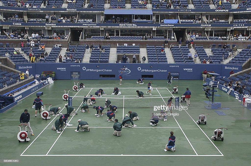 US Open Tennis 2003 - Day 10 : Foto di attualità