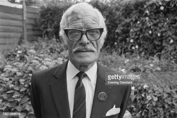 Groundsman Robert Twynam at the Wimbledon Championships in London, UK, 3rd July 1973. He is headkeeper of the lawns at the Wimbledon Tennis Club.