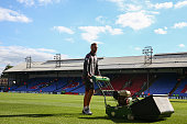 london england groundsmen at crystal palace