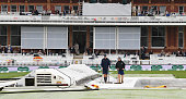 london england groundstaff at work as