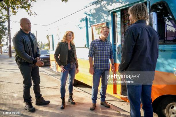 Groundwork Pictured LL COOL J Dina Meyer Chris O'Donnell and Eric Christian Olsen CIA Officer Veronica Stephens asks the NCIS team for help when an...