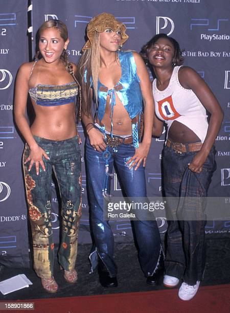 Adrienne Bailon Kiely Williams and Naturi Naughton attend the 18th Annual MTV VMA Awards PreParty Hosted by Sean P Diddy Combs and PlayStation 2 on...