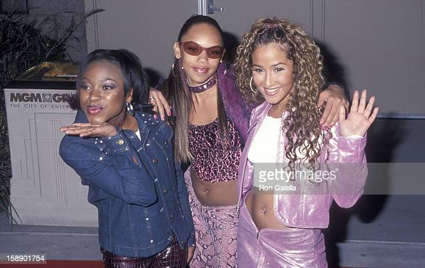 Naturi Naughton Kiely Williams and Adrienne Bailon attend the 11th Annual Billboard Music Awards on December 5 2000 at the MGM Grand Garden Arena in...