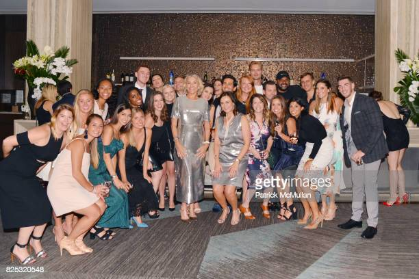 Group at Magrino PR 25th Anniversary at Bar SixtyFive at Rainbow Room on July 25 2017 in New York City