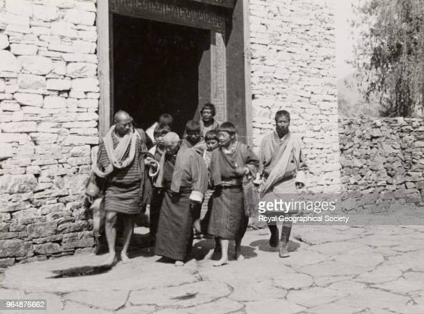 Group at Paro Bhutan 1933