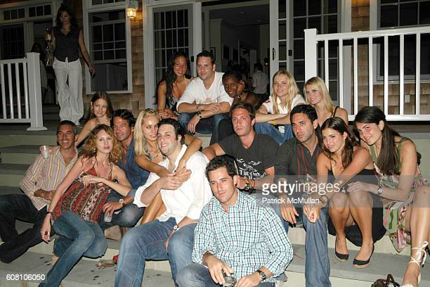 Group attend Patrick McMullan Dave Zinczenko invite you to a Summer BBQ for Eric Kimberly Villency at 12 Southampton Hills Court on July 9 2006 in...