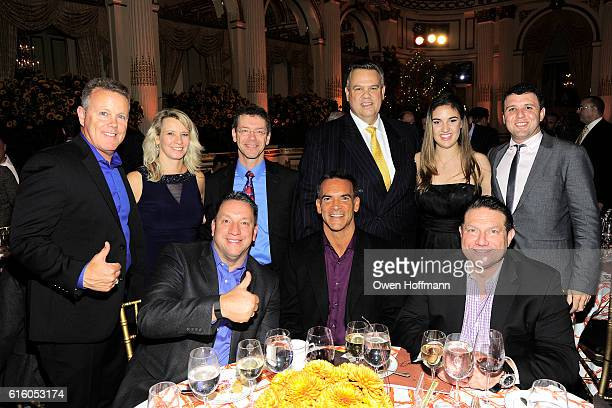 Group attends An Evening Honoring Joe Namath at The Plaza Hotel on October 20 2016 in New York City